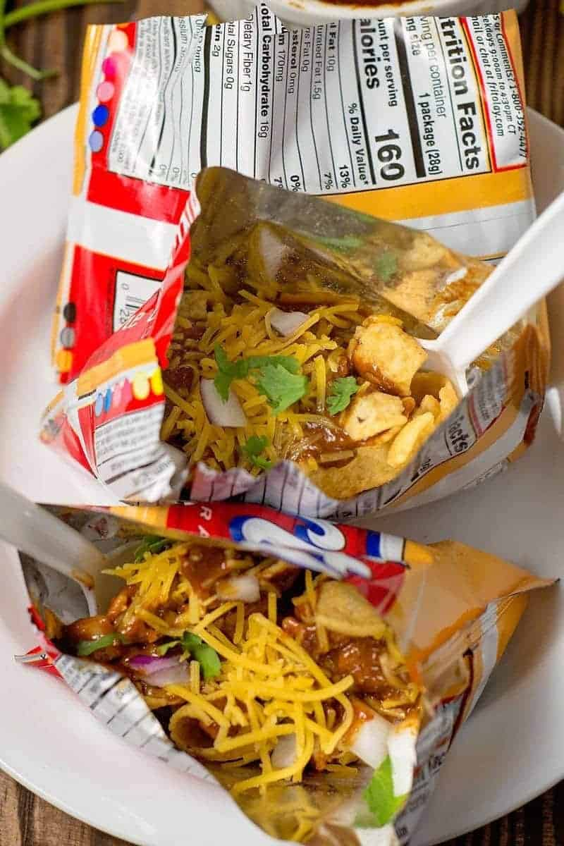 How to make walking frito pies