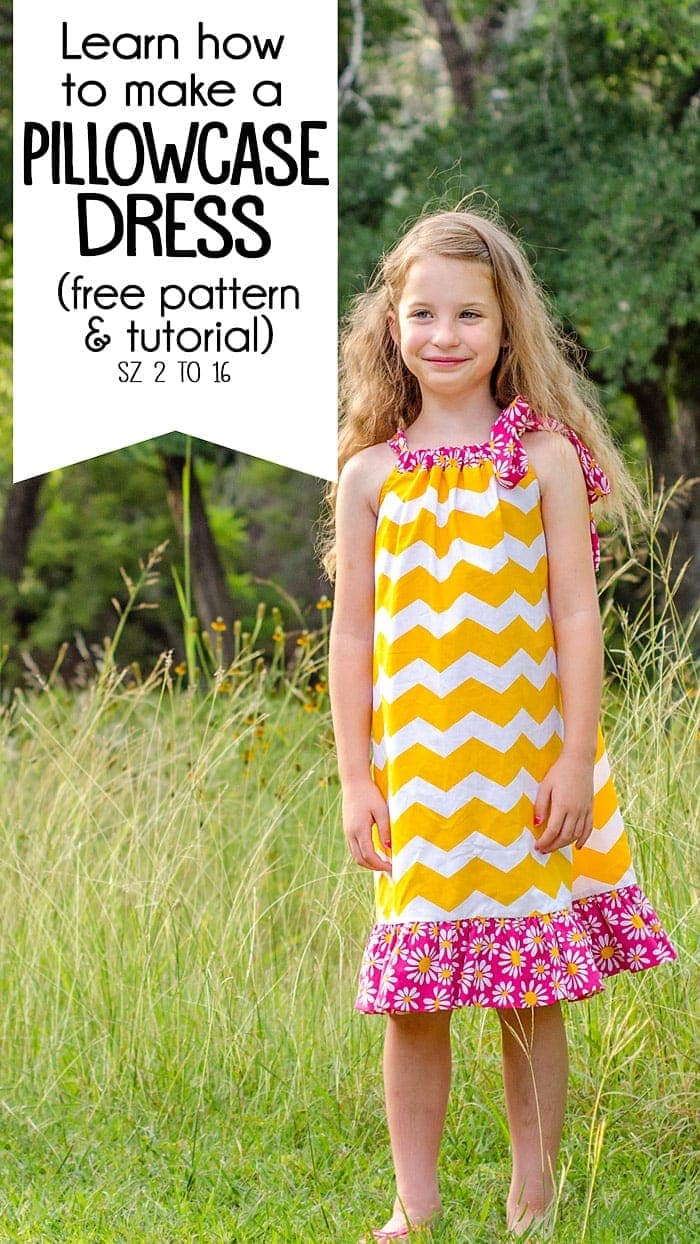 photo relating to Free Printable Pillowcase Dress Pattern referred to as How in the direction of create a Pillowcase Gown with this cost-free pillowcase