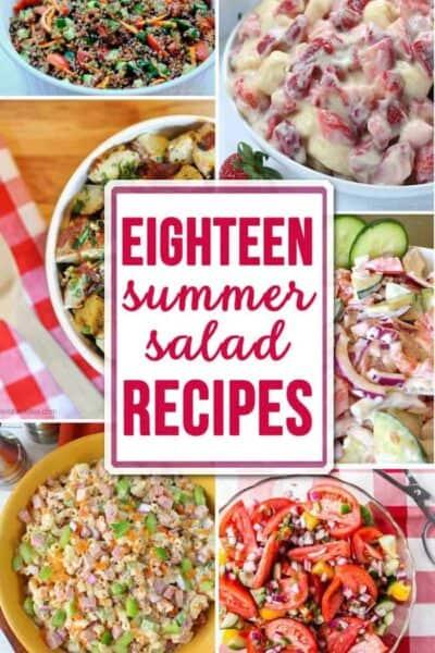18 Summer Salad Recipes