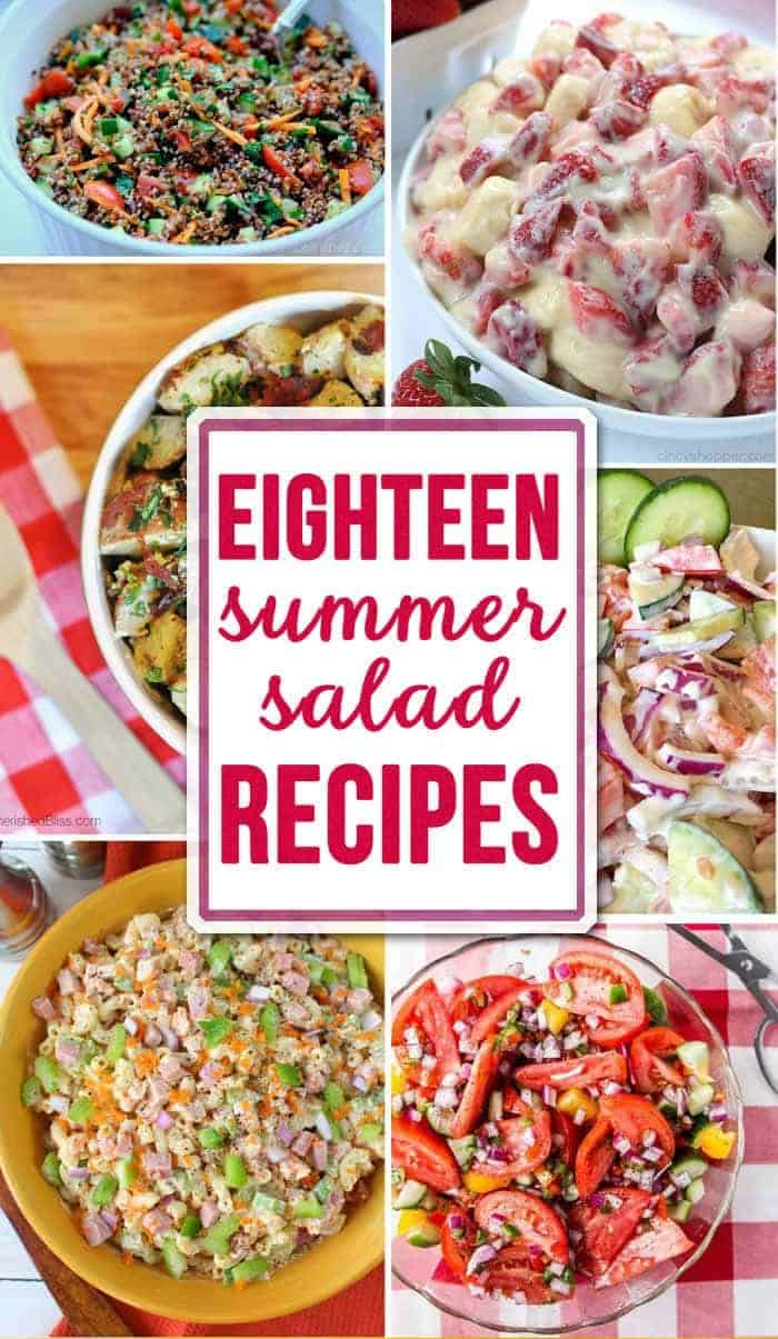 Eighteen Summer Salads
