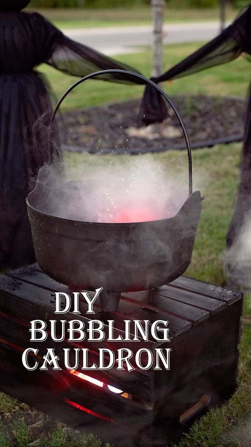 How to Make a Bubbling Cauldron