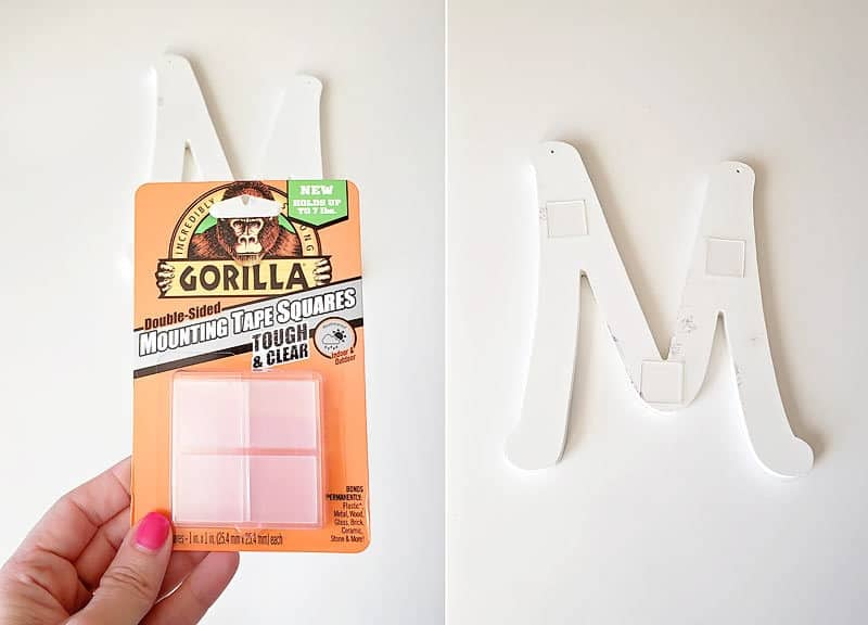 gorilla glue mounting squares