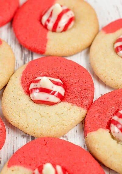 Easy Peppermint Twist Cookies