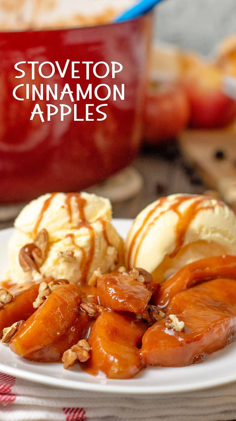 cinnamon apples recipe
