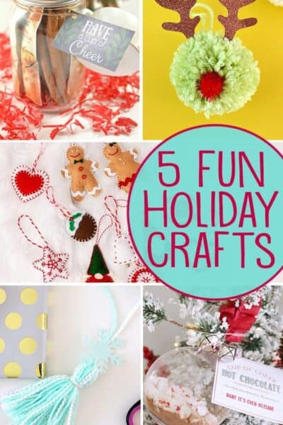 5 Fun Crafts + Inspiration Monday Party