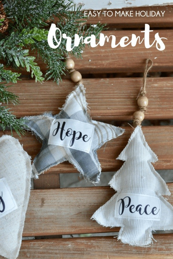 free christmas ornament patterns- Farmhouse Christmas Ornaments
