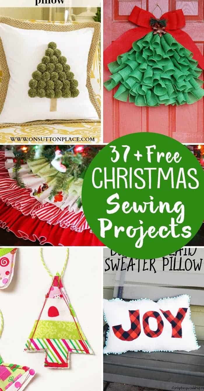 Christmas Free Images.37 Free Christmas Sewing Projects Stockings Ornaments