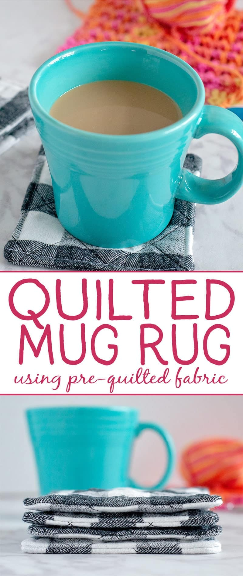 how to make a quilted mug rug