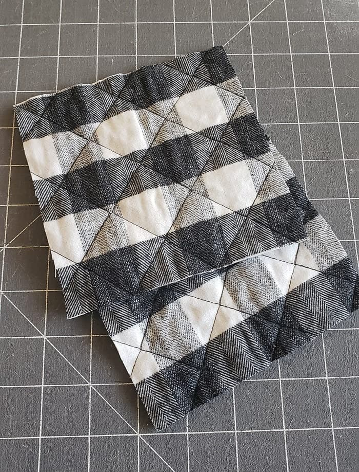 Mug Rugs Using Pre Quilted Fabric