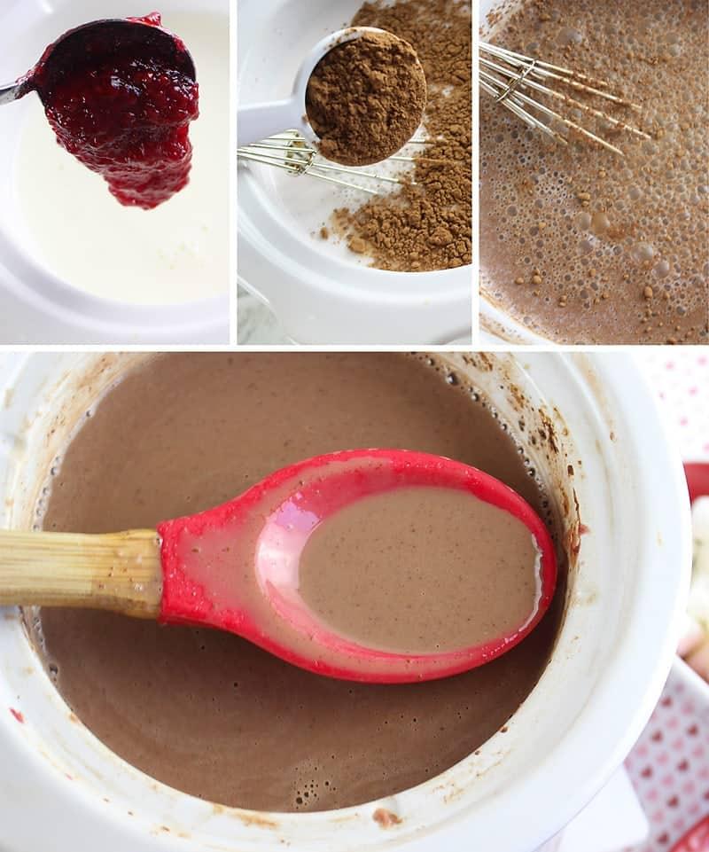 How to make Raspberry Hot Cocoa