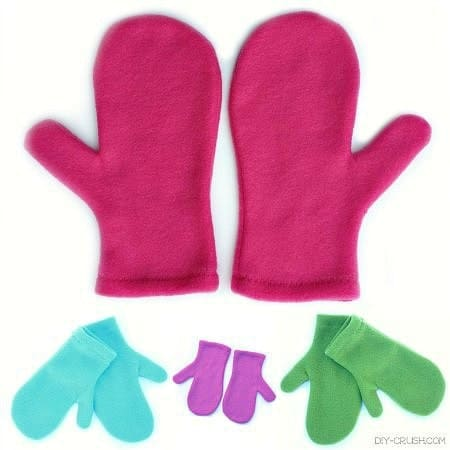 free fleece mitten pattern