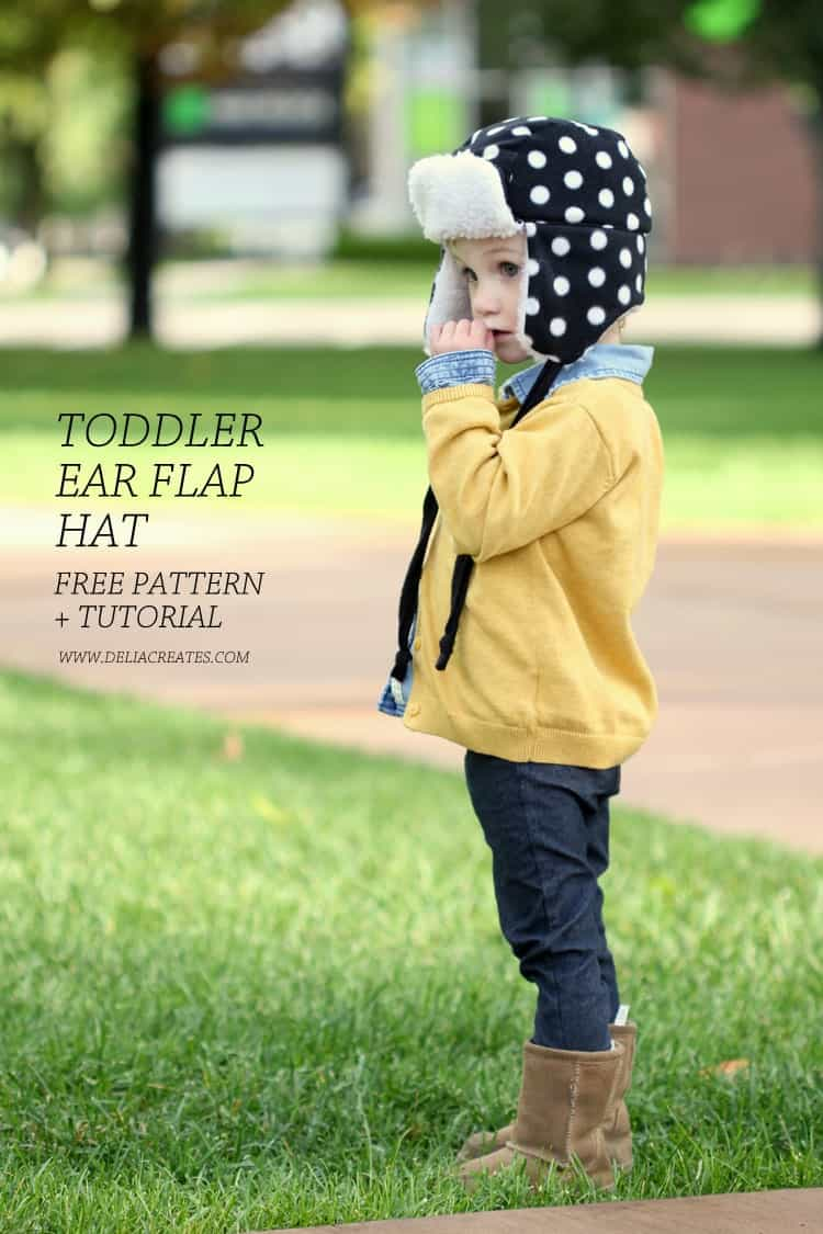 free toddler ear flap pattern