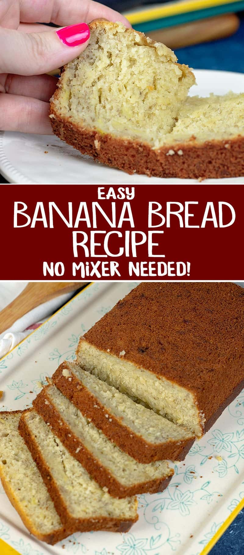 no mixer banana bread recipe