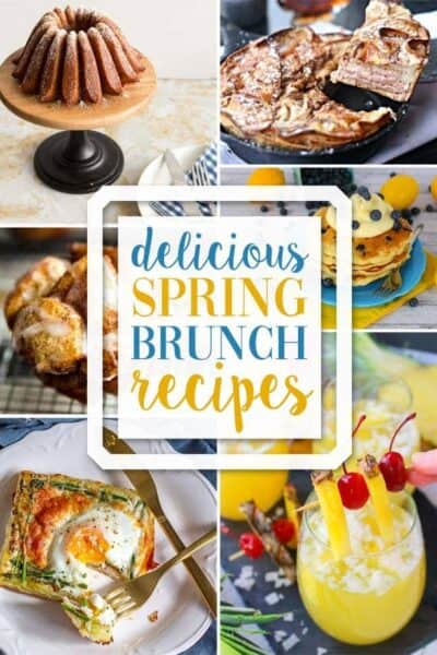 Yummy Spring Brunch Recipes + Inspiration Monday