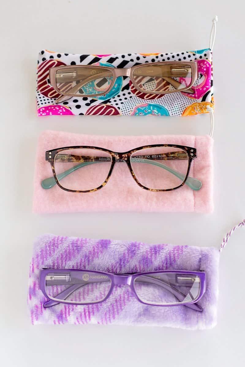 cute soft eyeglass cases