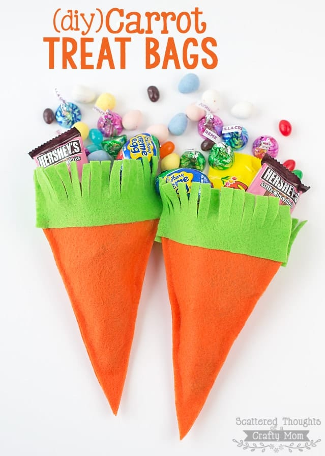 DIY Carrot Treat Bags
