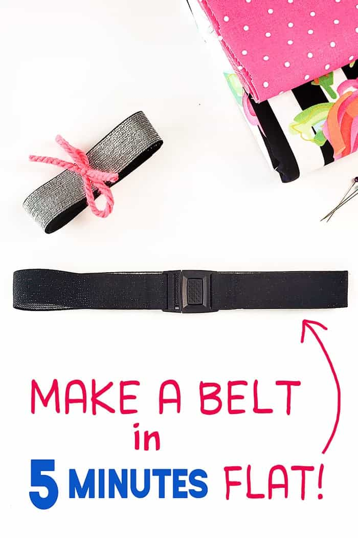 how to make a stretch belt