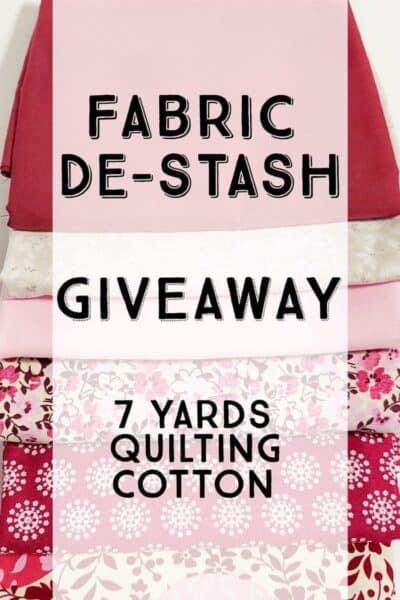 Summer Fabric Destash Giveaway #1