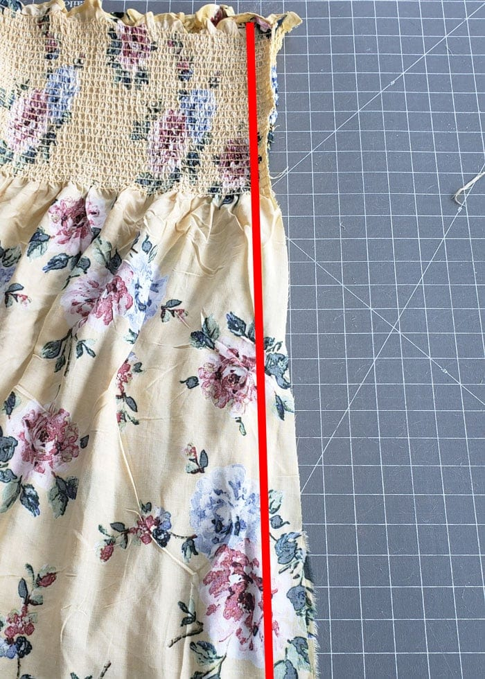 how to make a no pattern sundress