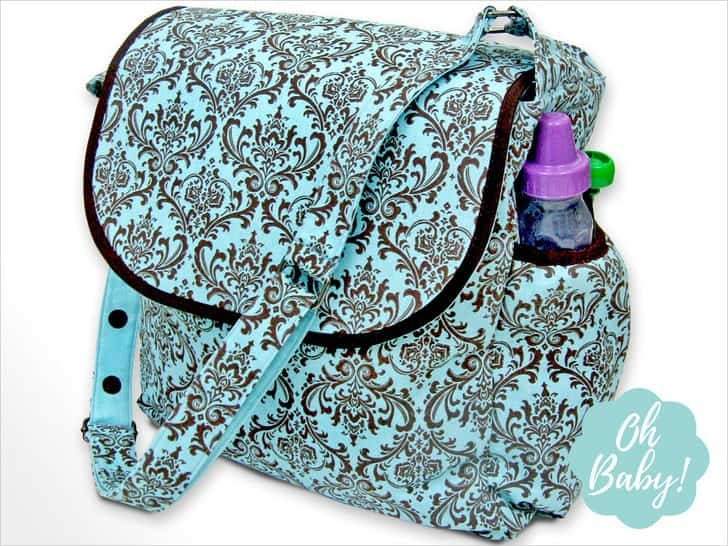 how to sew a diaper bag