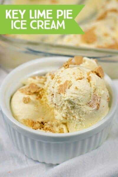 Last Day of Ice Cream Week: Frozen Key Lime Pie Ice Cream